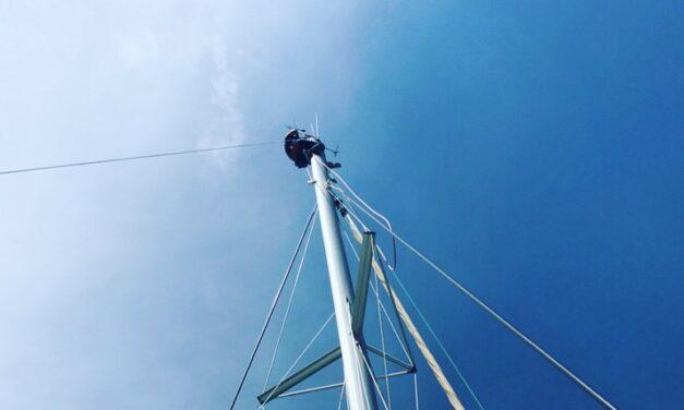 Climbing the Mast