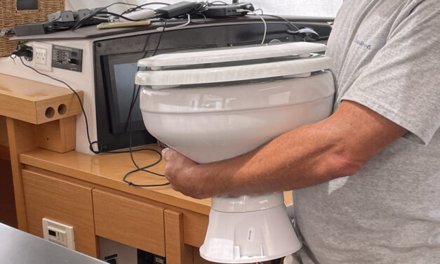 The Trouble with Marine Plumbing…. a Shitty Problem